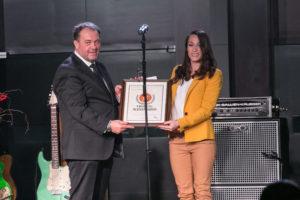 Catalina Ponor s-a numarat printre sportivii premiati in cadrul Galei Trofeele Alexandrion, prin care se premiaza excelenta romaneasca in sport.
