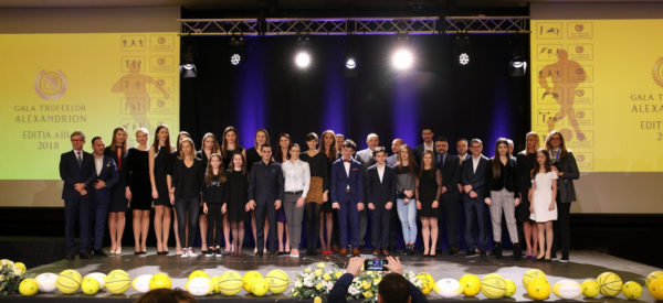 On February 1 2018, 27 great Romanian athletes were awarded at the third edition of the Alexandrion Trophies Gala, organized by the Alexandrion Foundation.