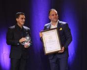 Marian Dragulescu a fost din nou premiat in 2018 in cadrul Galei Trofeelor Alexandrion, pentru rezultatele sale internationale.