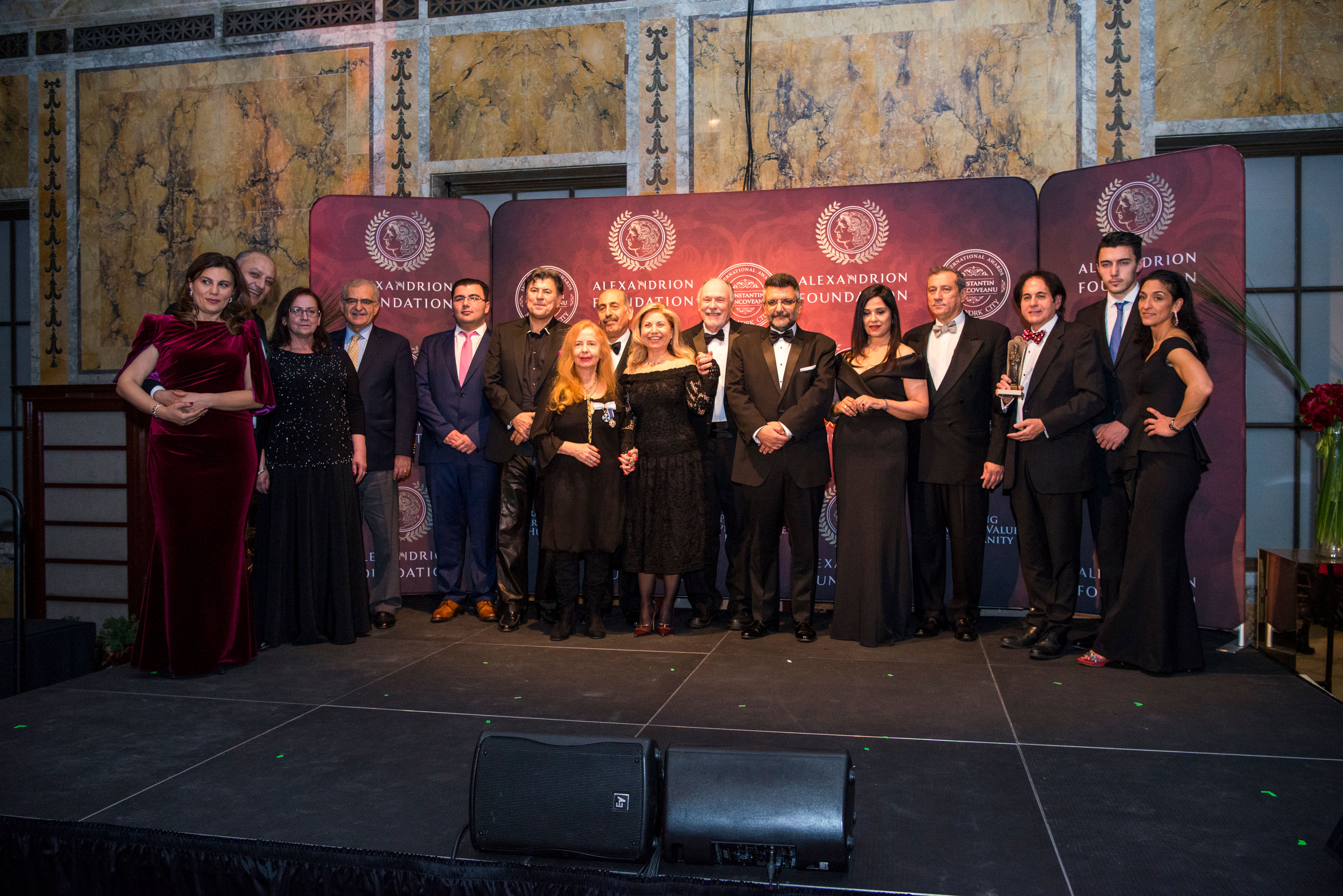 The Constantin Brâncoveanu International Awards awarded in the United States