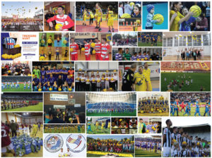 Alexandrion Foundation offered over 100,000 balls to sports in Romania in 2018