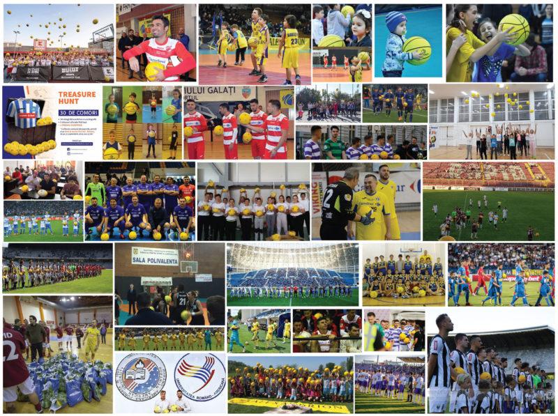 Fundația Alexandrion a oferit peste 100.000 de mingi sportului românesc în 2018