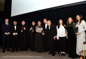 The Alexandrion Foundation has awarded, for the second time, Constantin Brancoveanu International Awards in New York