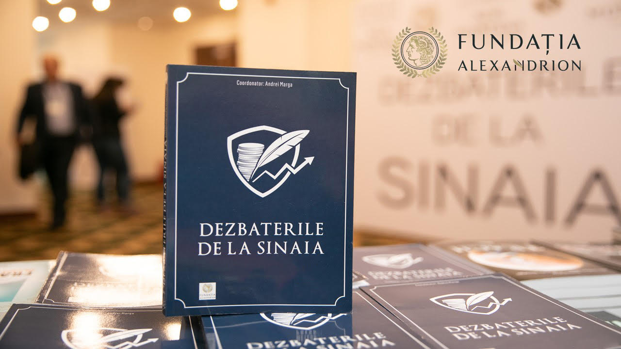 "The Alexandrion Foundation organizes online the 4th edition of ""The Sinaia Debates"", on the 27th- 28th of January 2021"