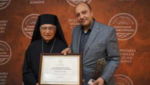 Historical visit: His Beatitude Youssef Absi, the Patriarch of the Greek Melkite Catholic Church from Antioch and All the East visited Romania upon the invitation of the Alexandrion Foundation